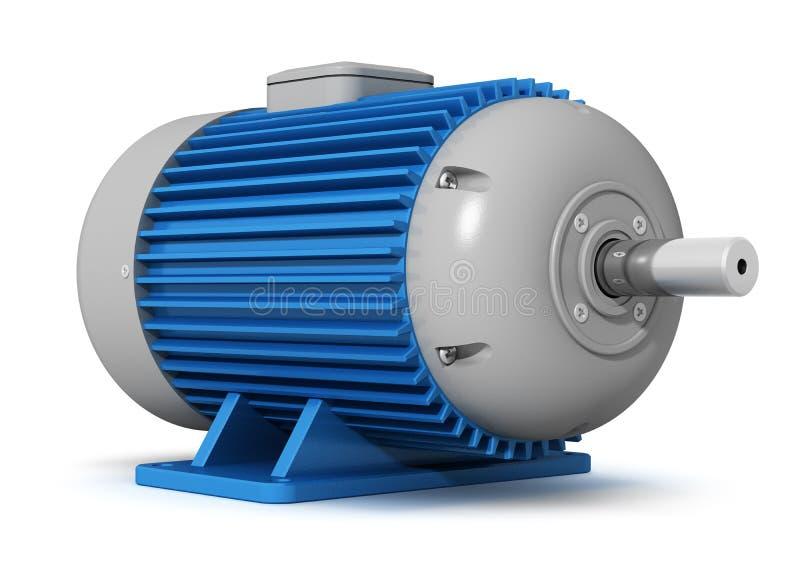 Motore elettrico industriale illustrazione di stock