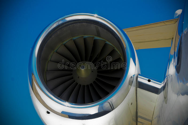 Motore a propulsione fotografia stock