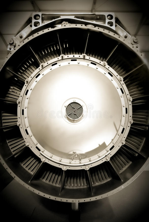 Motore a propulsione immagine stock