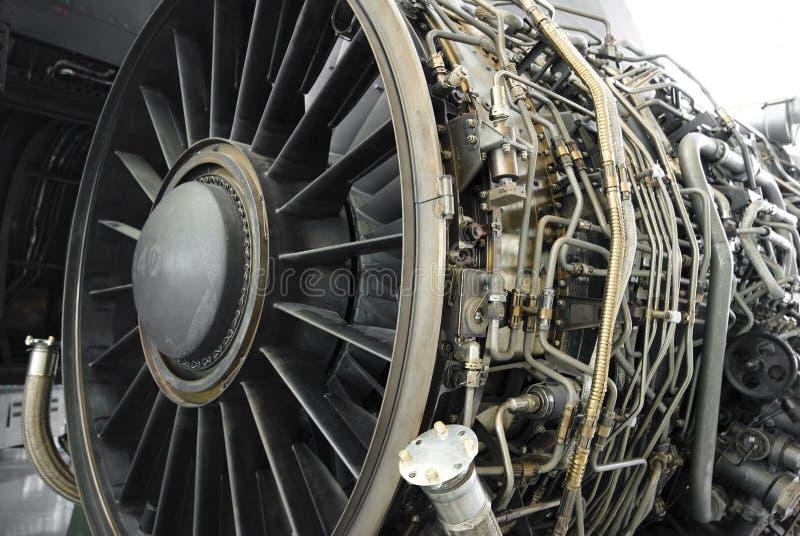 Motore a propulsione del Turbofan fotografie stock libere da diritti
