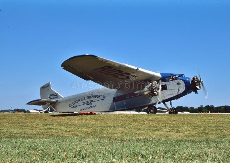 Motore sperimentale NC8407 di Ford 4-ATE di associazione degli aerei tri immagine stock libera da diritti