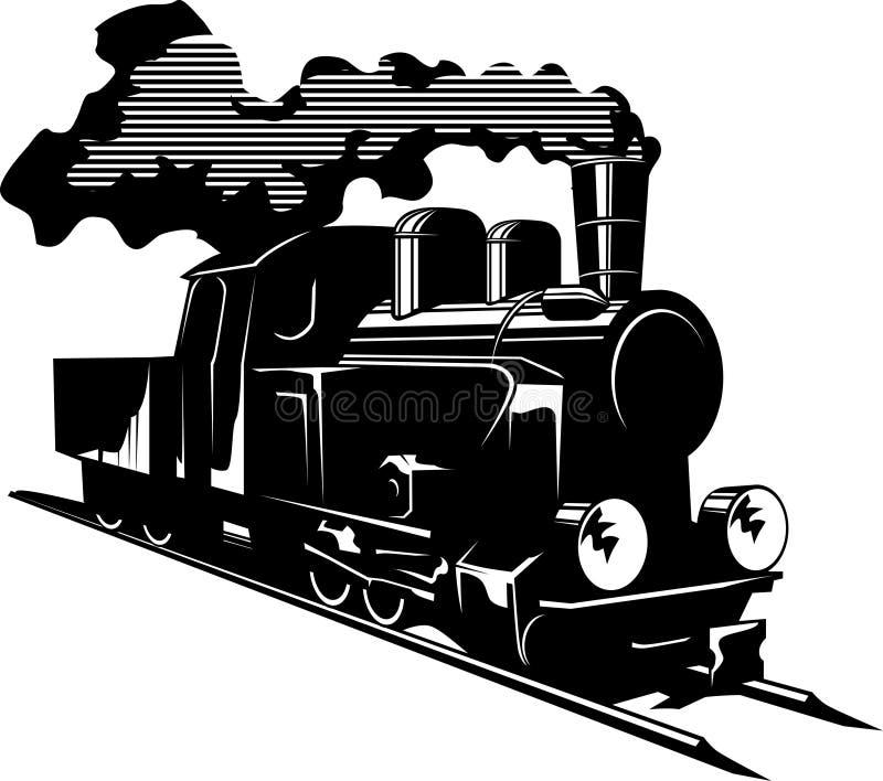 Motore a vapore illustrazione di stock