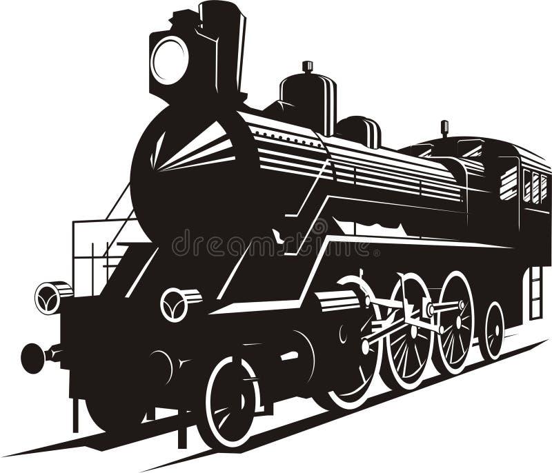 Motore a vapore royalty illustrazione gratis