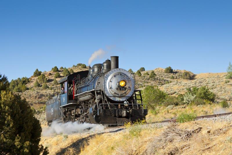 Motore a vapore di V&T immagini stock libere da diritti
