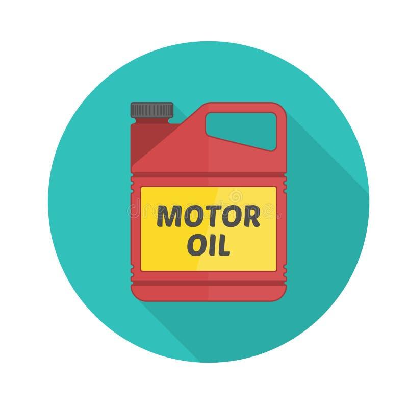 Motorenölvektorikone lizenzfreie abbildung