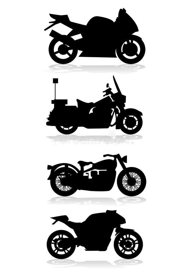 Motoren stock illustratie