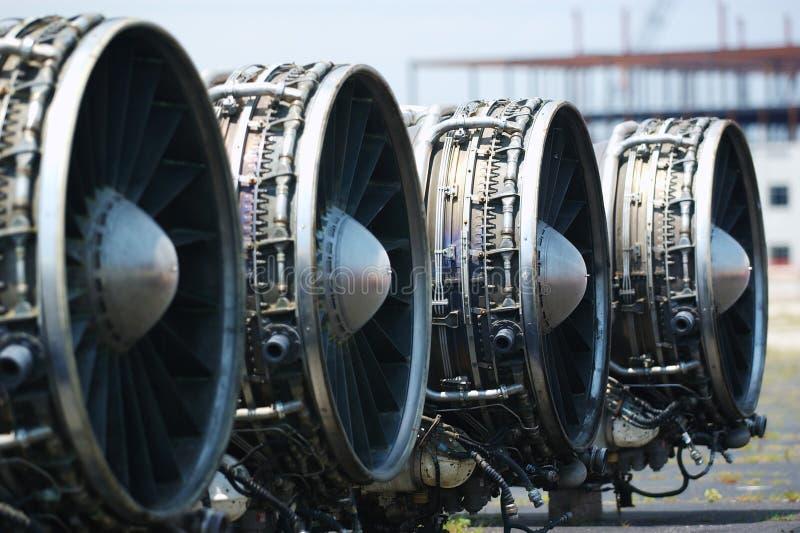 Motoren des Lancer-B-1 stockbilder