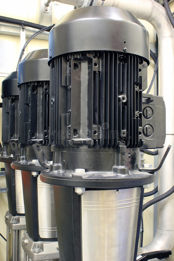 Motores eléctricos fotografía de archivo