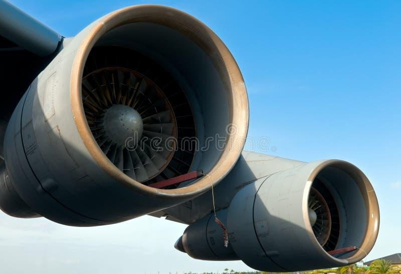 Motores poderosos fotografia de stock