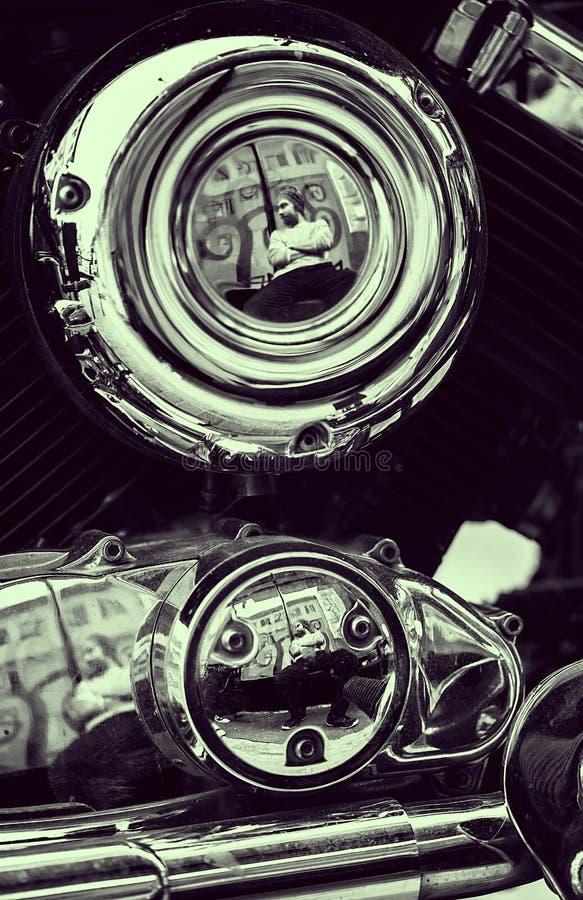 Download Motorfiets stock afbeelding. Afbeelding bestaande uit donker - 29503297