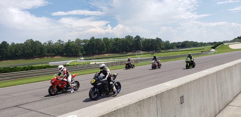 Motorfiets het Rennen royalty-vrije stock fotografie