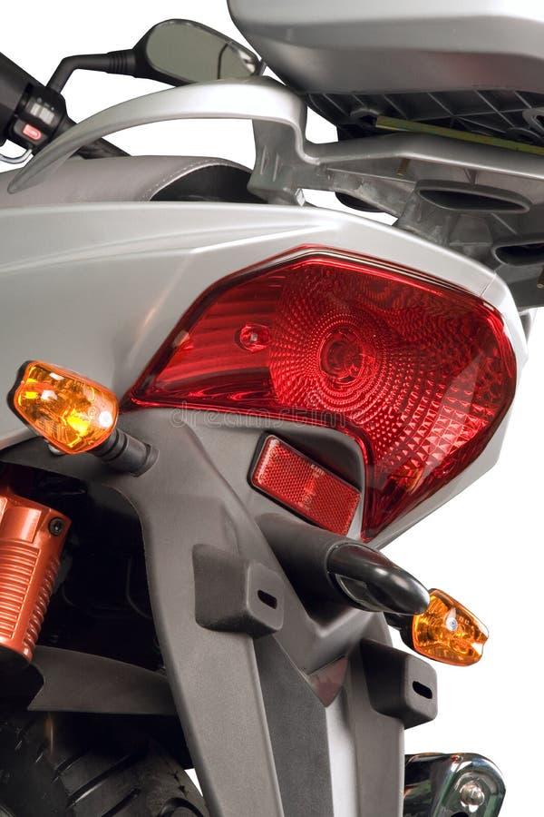 Motorfiets, koplamp royalty-vrije stock fotografie