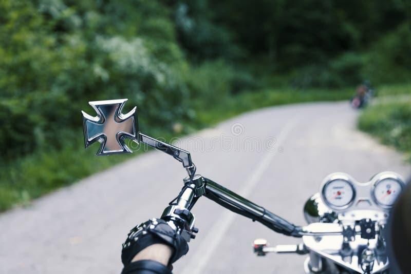 Motorfietsbestuurder royalty-vrije stock foto's