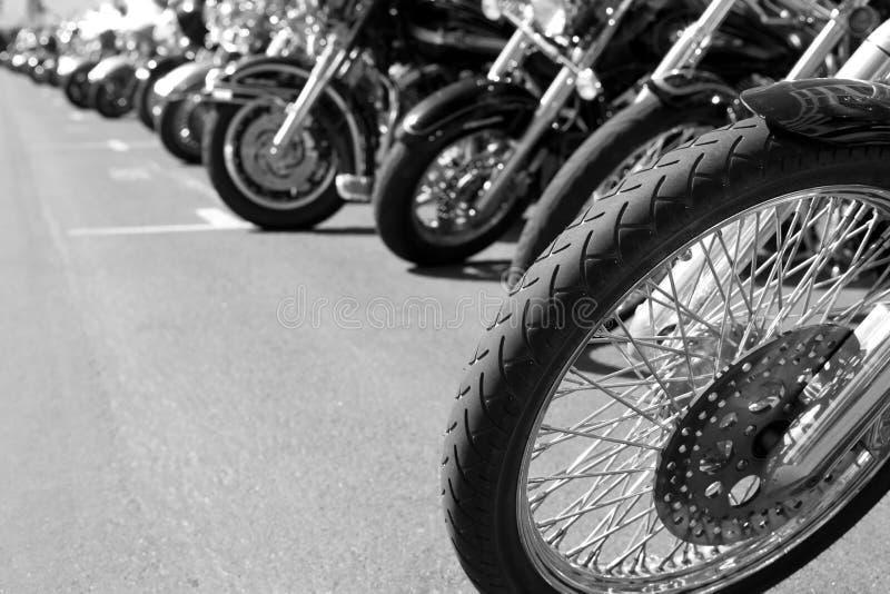 Motorfietsen royalty-vrije stock afbeelding