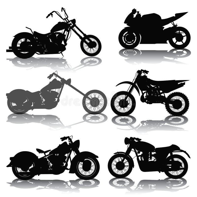 motorfietsen stock illustratie