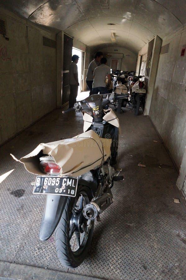 Motorfietspakage stock afbeeldingen