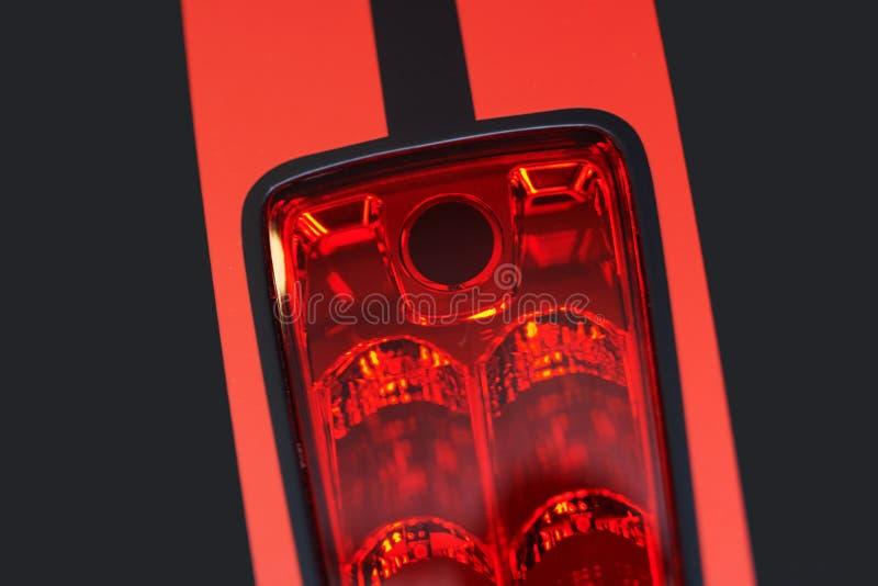 Motorfietsstoplicht stock foto