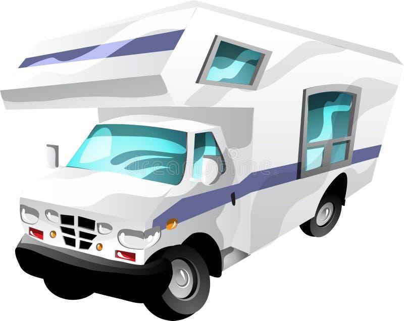 Motorhome vector illustratie