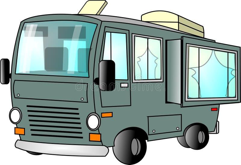 Download Motorhome stock illustration. Image of travel, slideout - 41744