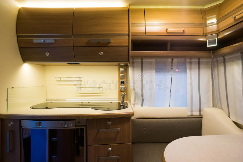 Download Motorhome stock photo. Image of bedroom, holiday, camp - 42294926