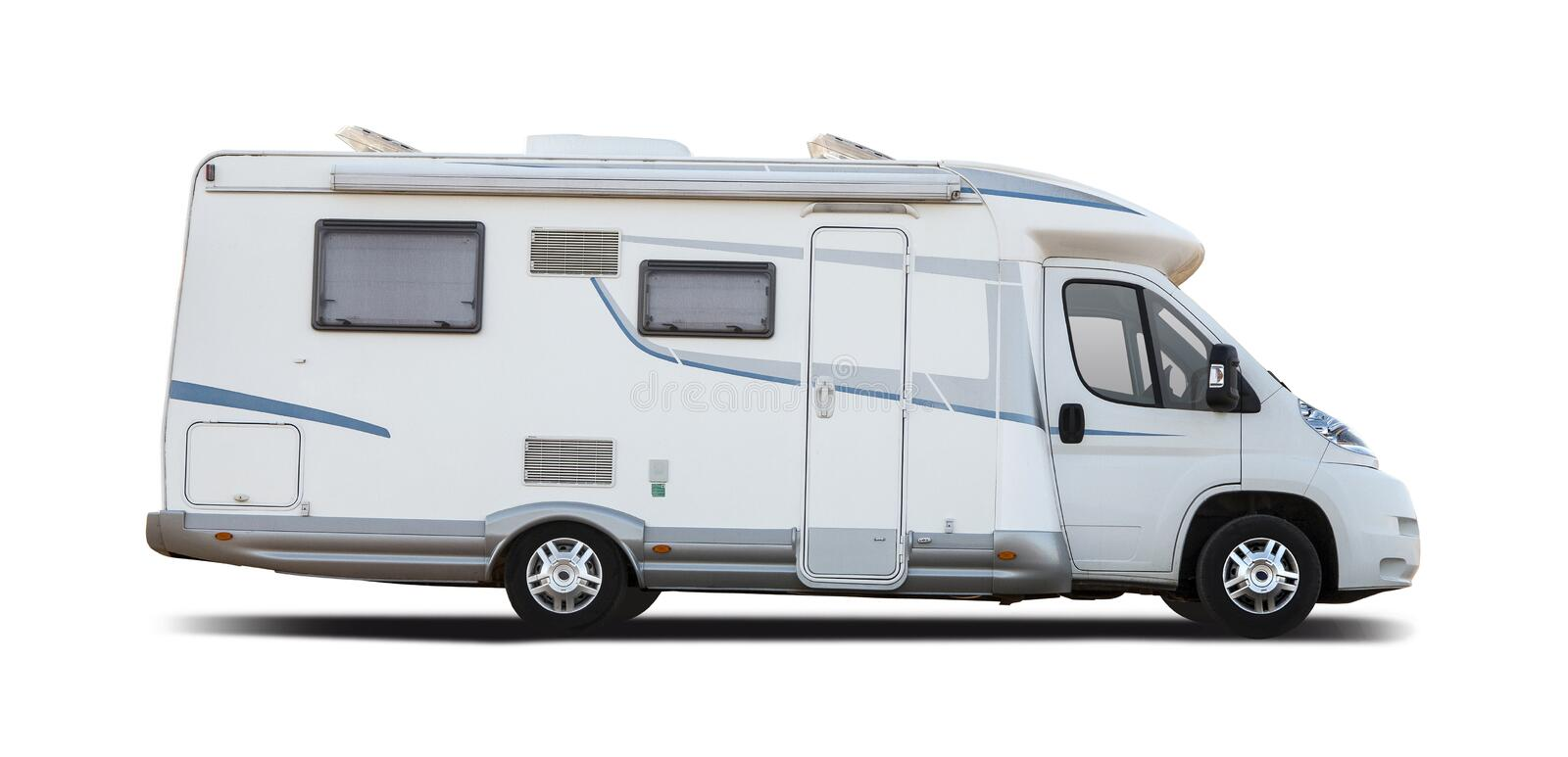 Download Motorhome Side View Stock Photo Image Of Mobility Mini