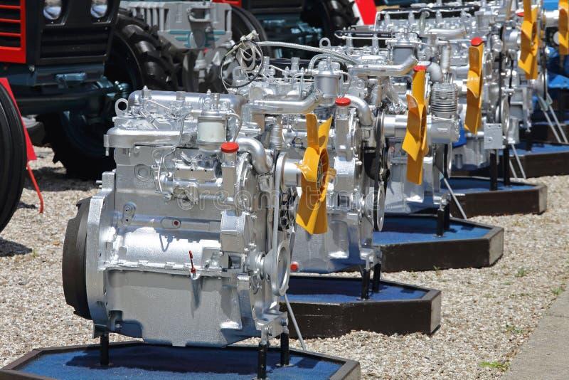 Motori di trattore fotografia stock