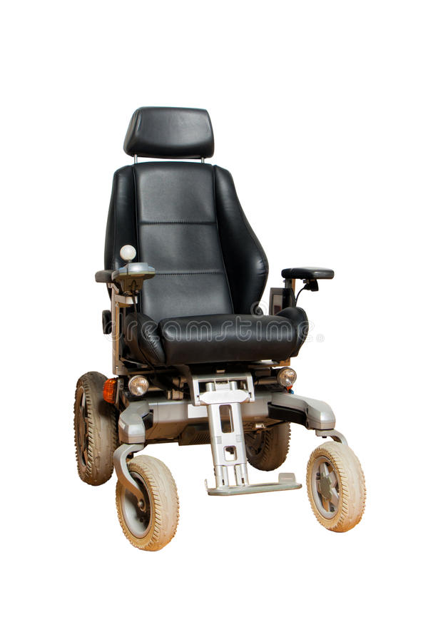 Free Motorised Wheelchair With Ball Controller For Disposable People Stock Photography - 75993072