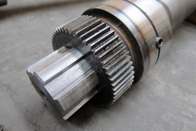 Motoriskt kugghjul arkivfoto