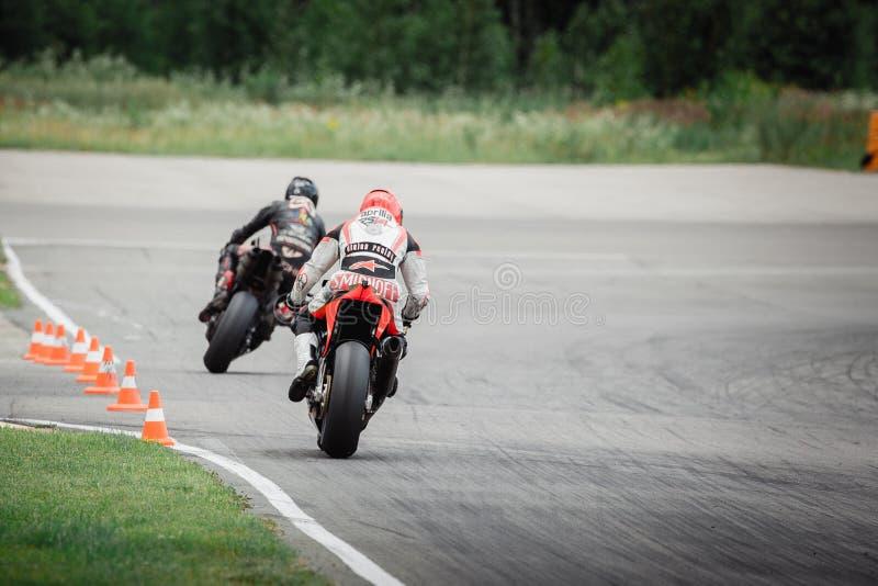 Motoriskt tävlings- spår - NN-cirkel arkivfoto