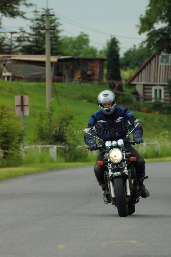 Motorista imagen de archivo