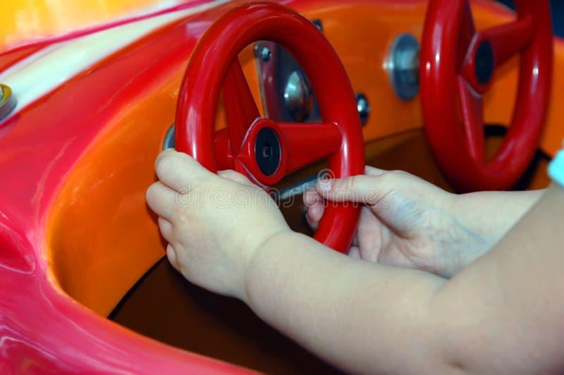 Motorista Danger Alert do bebê fotografia de stock royalty free