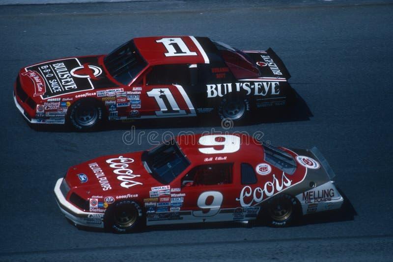 Motorista de Bill Elliot NASCAR fotografia de stock royalty free