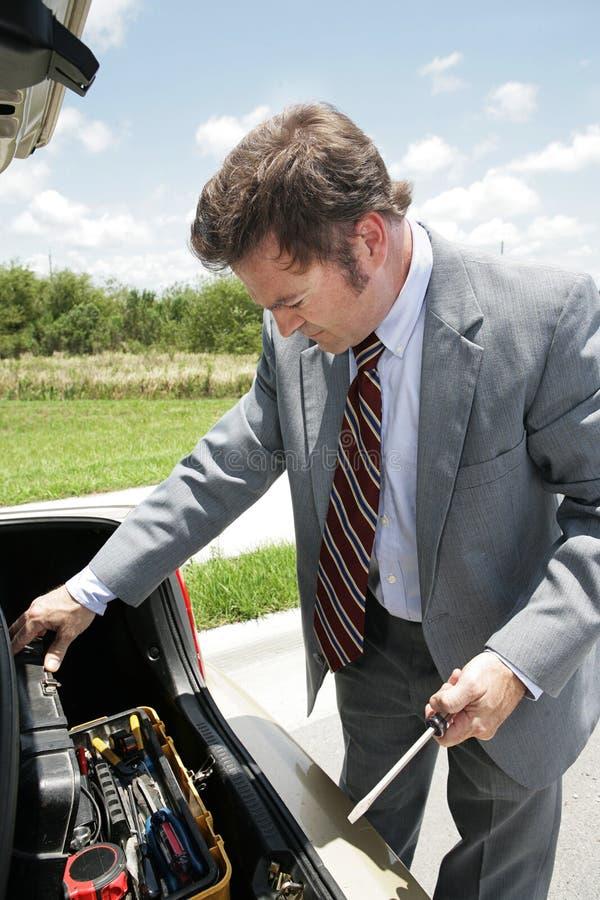 Motorista preparado imagens de stock royalty free