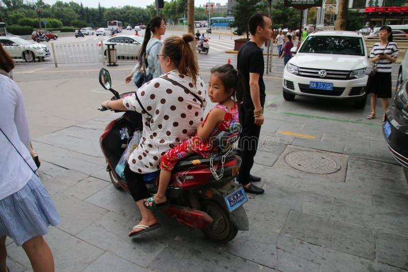 Motoristas chineses imagem de stock