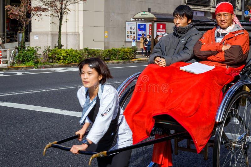 Motoristas do riquexó de Japanesed foto de stock royalty free