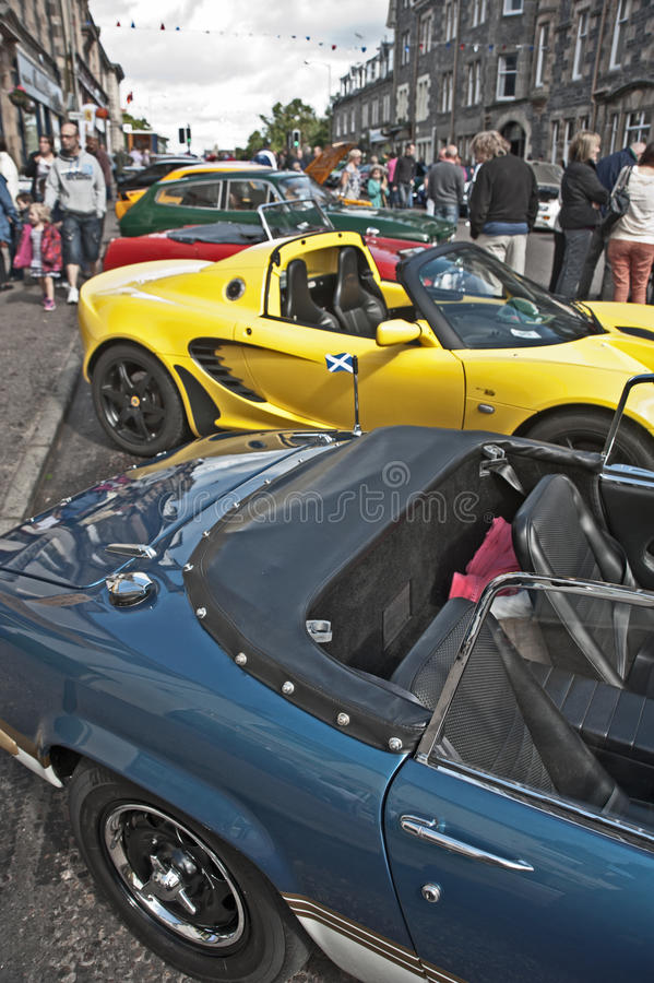 Download Motormania At Grantown-on-Spey Editorial Stock Image - Image: 26438059
