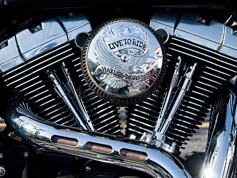 motormotorcykel tvilling- v arkivfoton