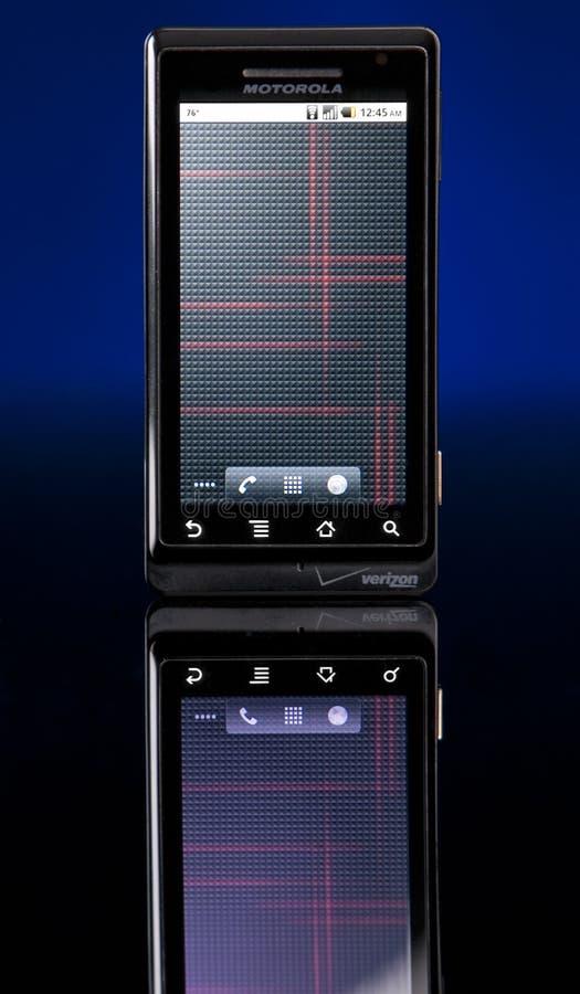 Motorola Droid photographie stock