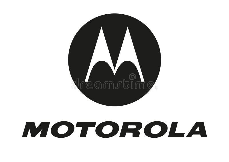Motorola-embleem royalty-vrije illustratie
