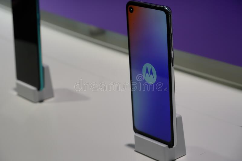 Motorola-Smartphone stockfoto