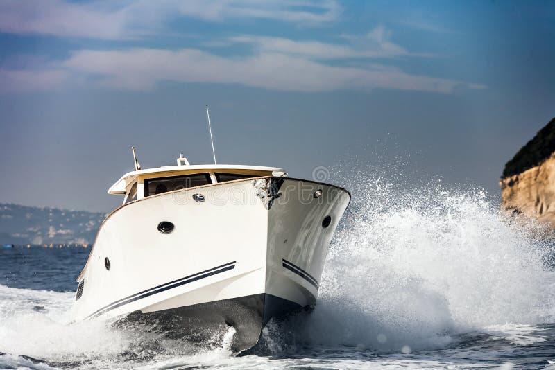 Motorowa łódź obraz stock