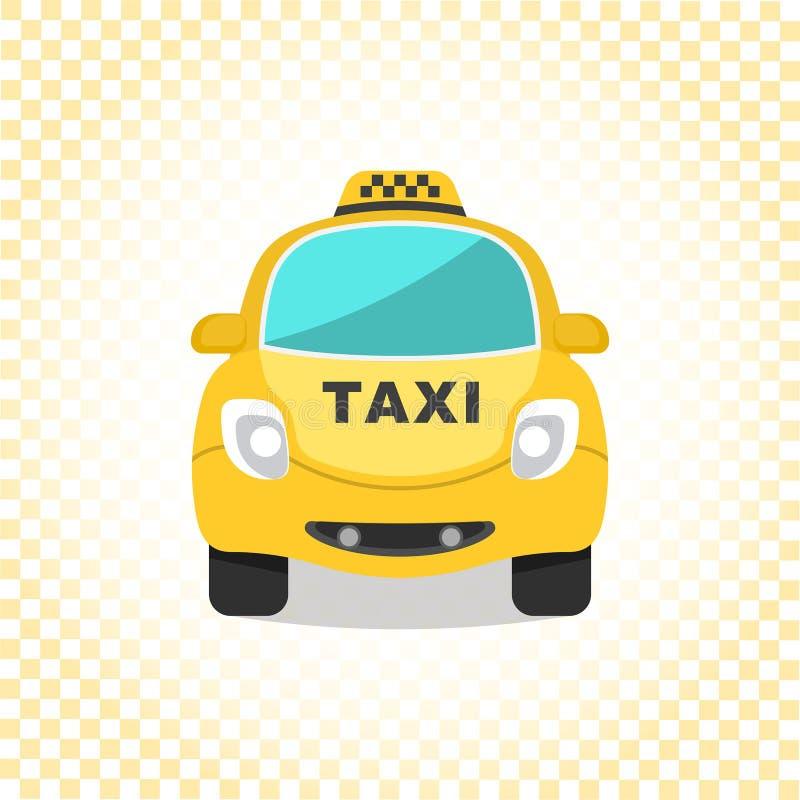 Motorowa taksówka ilustracji