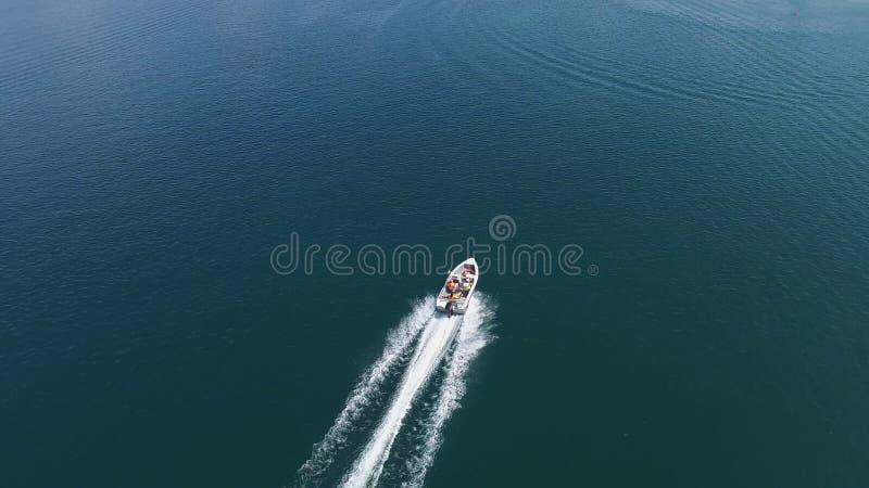 Motorowej łodzi antena obraz royalty free