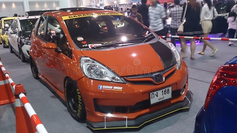Motorowy expo 2014 Tajlandia fotografia royalty free