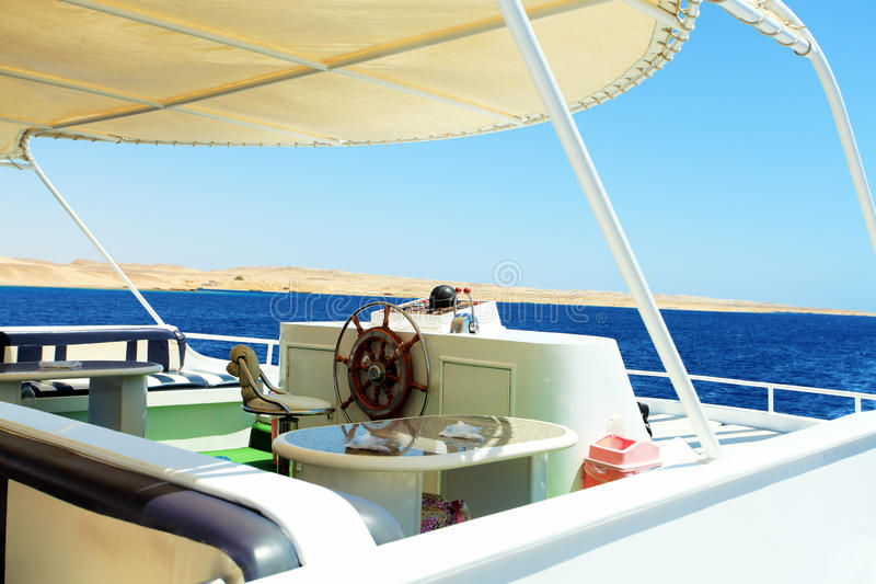 motorowy jacht zdjęcia royalty free