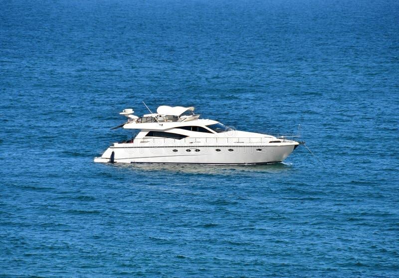 motorowy jacht zdjęcie royalty free