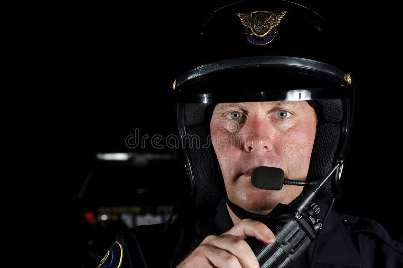 Download Motorowy oficer zdjęcie stock. Obraz złożonej z bilet - 21008420