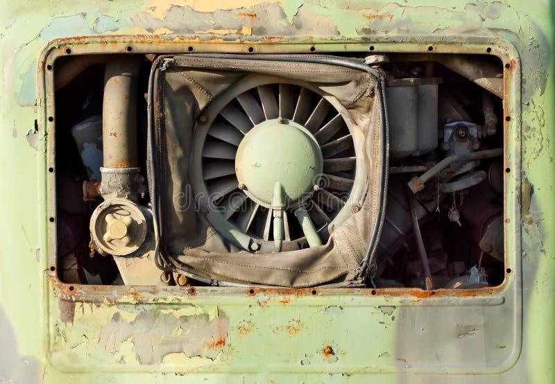motorowy stary ośniedziały obrazy stock