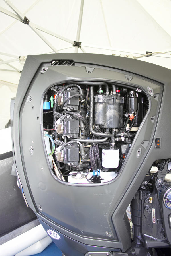 Motorpropeller royalty-vrije stock foto's