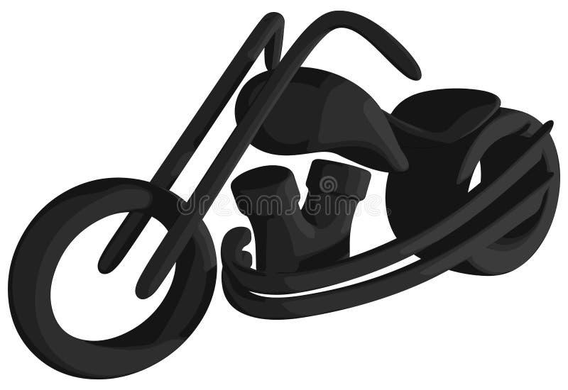 Kreuzer (schattiert - Schattenbild) lizenzfreie abbildung